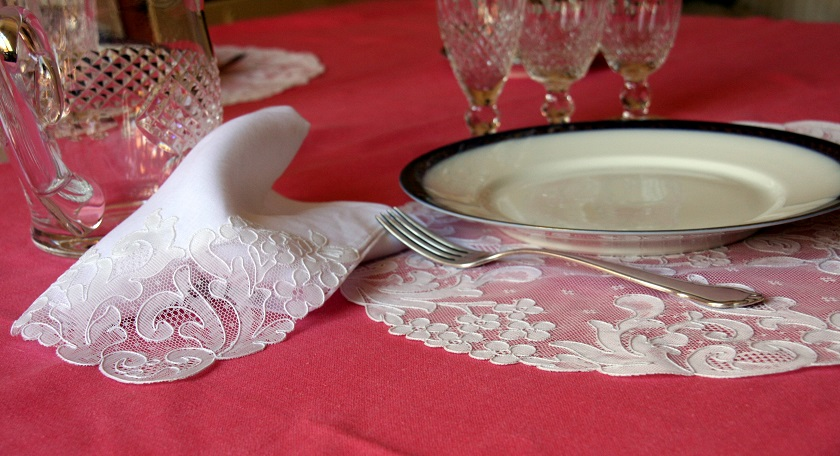 "Placemats ""Hortensia"""